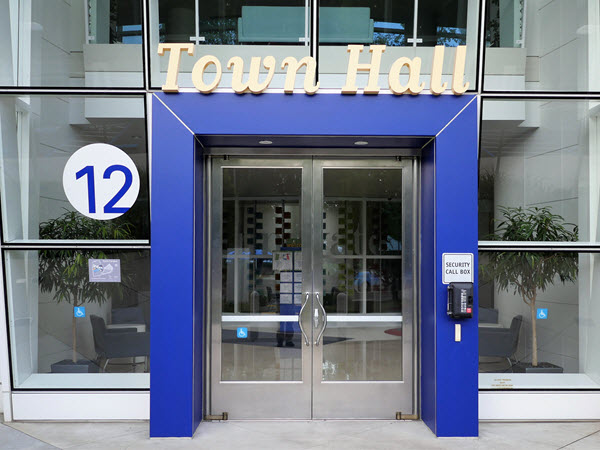 PayPal Town Hall Entrance
